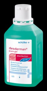 Desderman pure gel 500ml + pompka